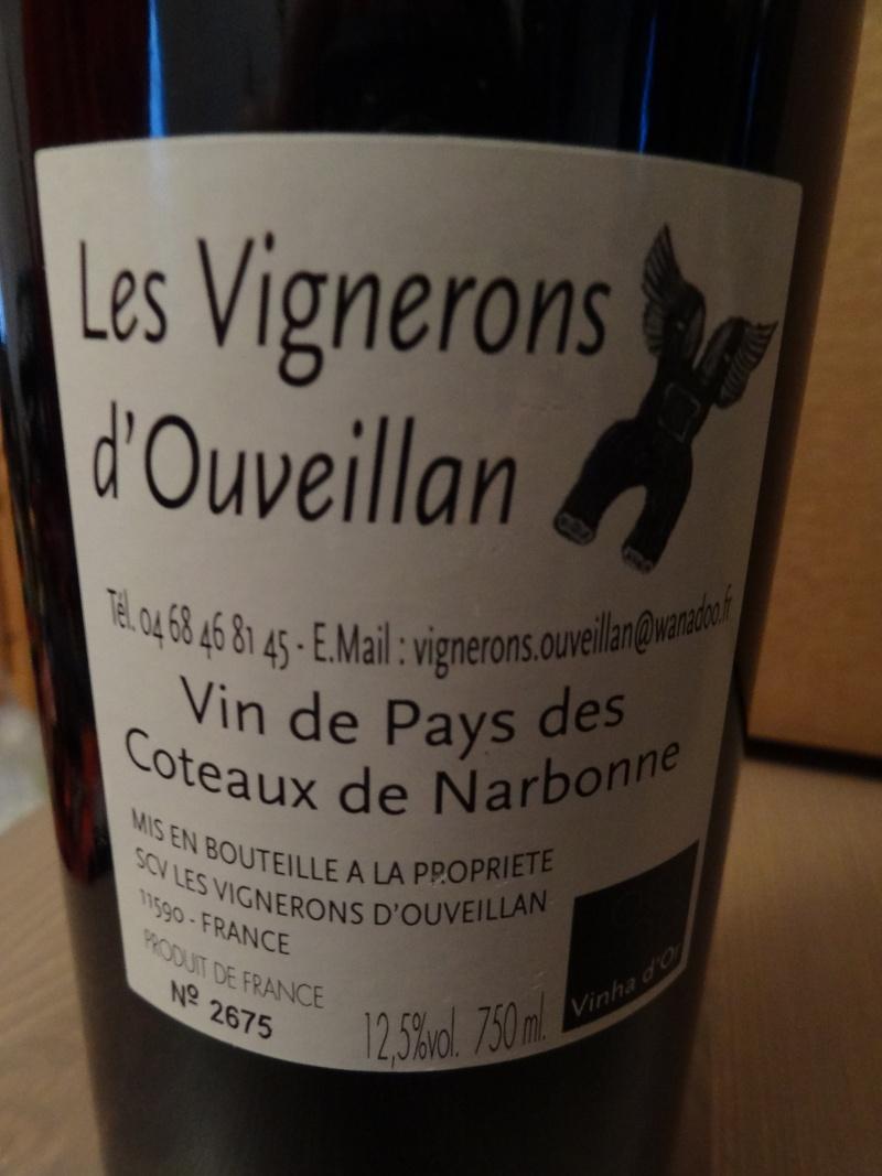 à vendre bouteille vin Calogero Les Vendanges du Coeur Dsc04113