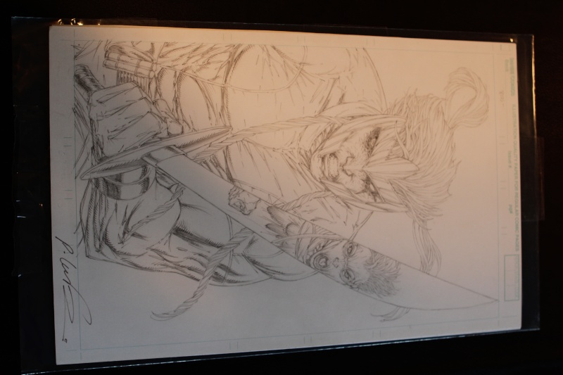 FT: Rob Liefeld X-Force cover pencils for any Revenge proof  Img_0910