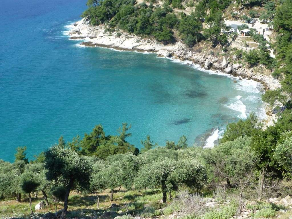 Greece, Island of Thassos, 2014 Part 1 05012