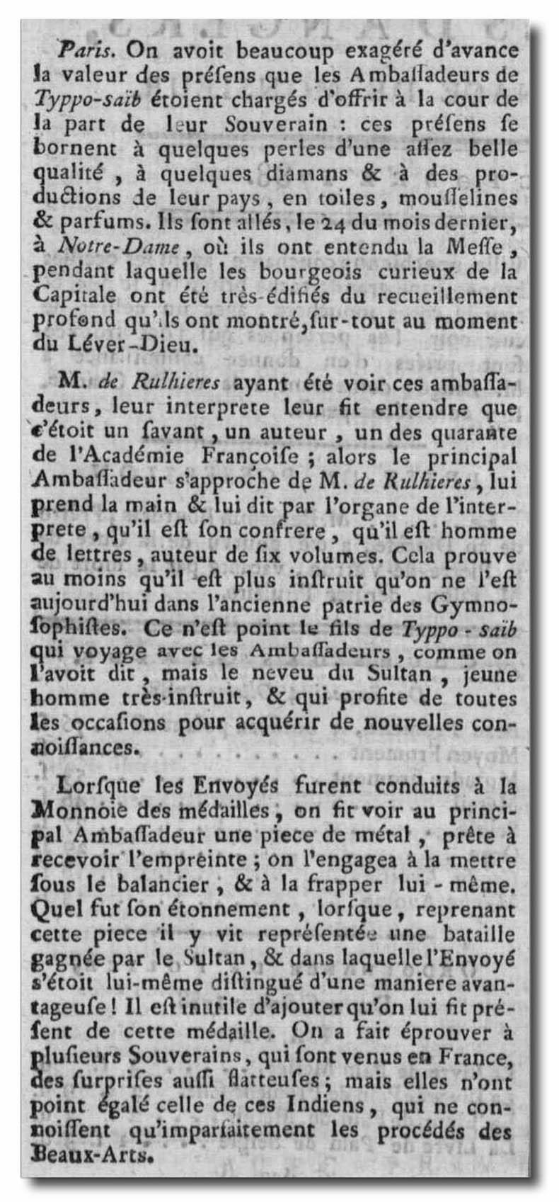 L'ambassade de Tippoo Sahib (Tipû Sâhib) à Versailles. - Page 2 Captu410