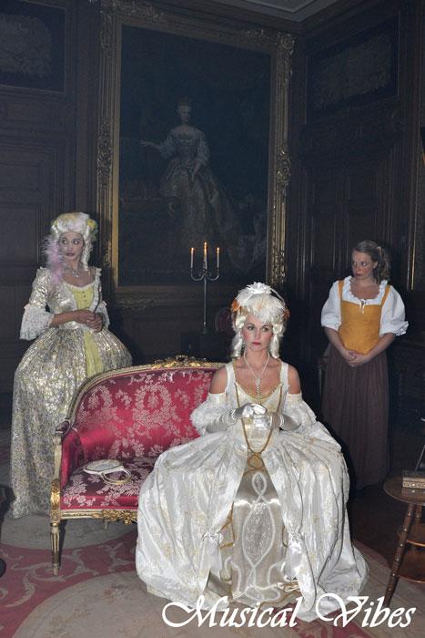 Marie-Antoinette au château de Mérode cet été Marie-11