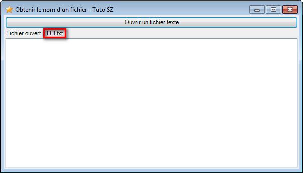 [Tuto] Obtenir SEULEMENT le nom d'un fichier 2014-029