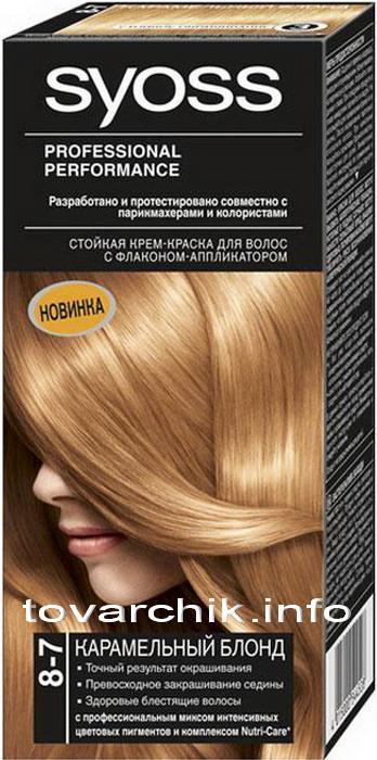 Краска для волос Syoss-10