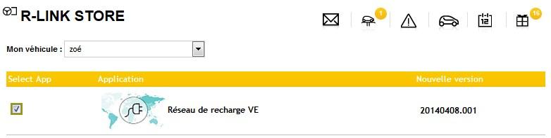 MAJ Réseau de recharge VE - version  20140408.001 2014-028