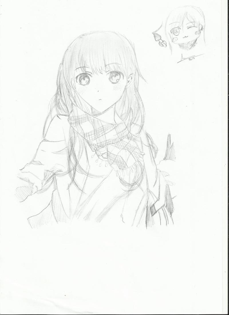 Des dessins en vracs Fille_10