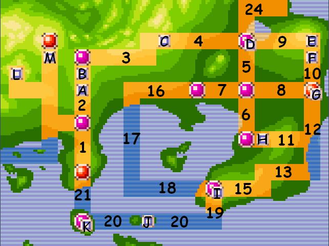 Localisations des pokémons en 3.9  - Page 5 Kanto_10