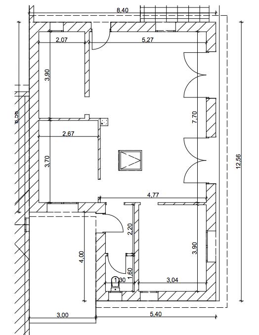 Mur contre habitation existante, alternative au greb Plan10