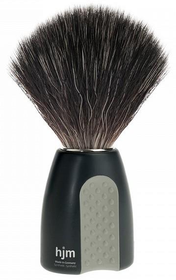 Revue du blaireau Muhle HJM Synthetic Hair Black Fibre ! 130
