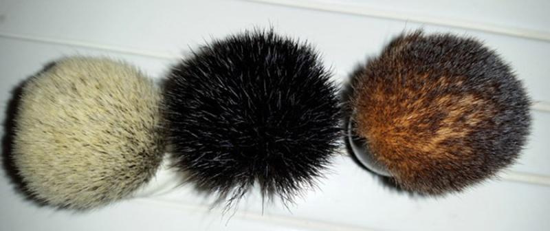 Revue du blaireau Muhle HJM Synthetic Hair Black Fibre ! 320