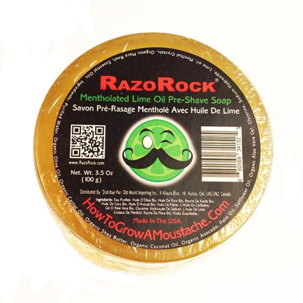 Revue du savon avant rasage Razorock / HTGAM Mentholated Lime Rrment10