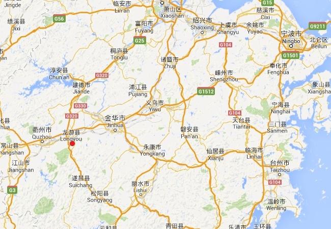 Les grottes de Longyou - Chine - Asie Long110