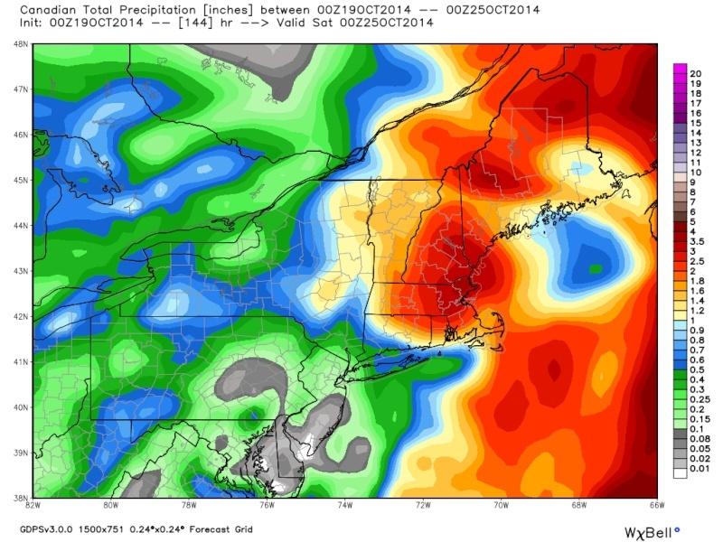 Coastal Storm 10/22-10/23 Cmc_pr10