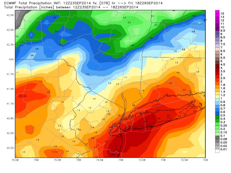 Coastal Storm 9/25/14 Ecmwf_10