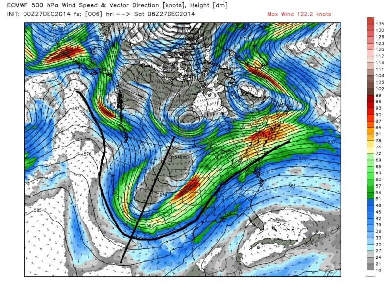 December 29th-30th Potential Overrunning event - Page 5 Ecmwf_22