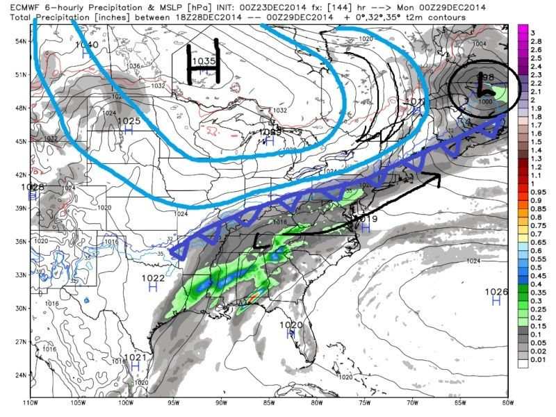 December 29th-30th Potential Overrunning event Euro_s16
