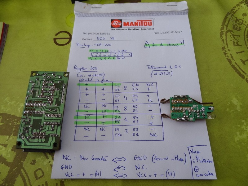 Reprogrammation télécommande plip 205 505_re11