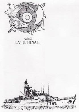 * LIEUTENANT DE VAISSEAU LE HÉNAFF (1980/....) * 00-0012
