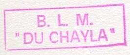 * DU CHAYLA (1957/1991) * 00-0019