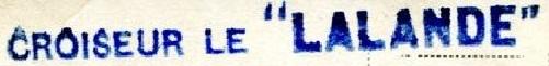 * LALANDE (1891/1911) * 09-1110