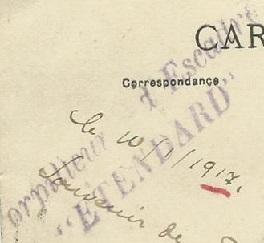 * ETENDARD (1909/1917) * 17-0110