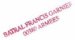 * FRANCIS GARNIER (1974/2011) * 200-0114