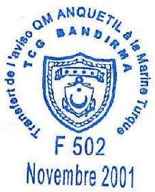 * QUARTIER-MAÎTRE ANQUETIL (1979/2000) * 2001-114