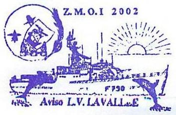 * LIEUTENANT DE VAISSEAU LAVALLÉE  (1980/2018) * 2002-013