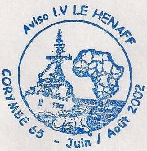 * LIEUTENANT DE VAISSEAU LE HÉNAFF (1980/....) * 2002-015