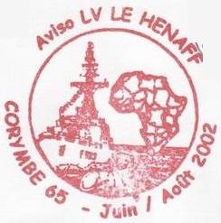 * LIEUTENANT DE VAISSEAU LE HÉNAFF (1980/....) * 2002-016