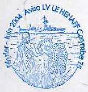 * LIEUTENANT DE VAISSEAU LE HÉNAFF (1980/....) * 2004-010