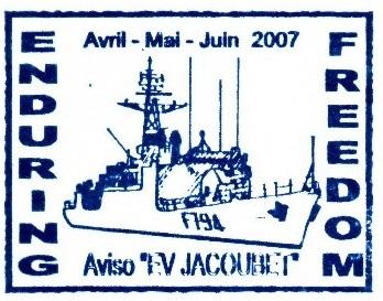 * ENSEIGNE DE VAISSEAU JACOUBET (1982/....) * 2007-011