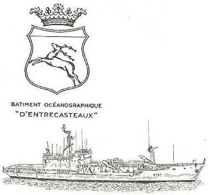 * D'ENTRECASTEAUX (1971/2008) * 203-1217