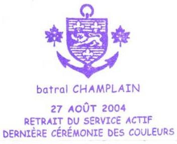 * CHAMPLAIN (1974/2004) * 204-0811