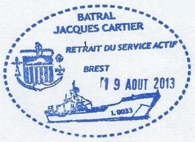 * JACQUES CARTIER (1983/2013) * 213-0811