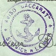 * BACCARAT (1922/1934) * 30-0610