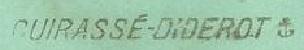 * DIDEROT (1911/1937) * 36-0710