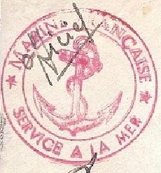 * COMMANDANT DUBOC (1939/1963) * 45-0810
