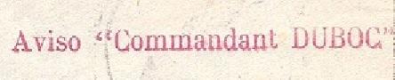 * COMMANDANT DUBOC (1939/1963) * 45-08_10