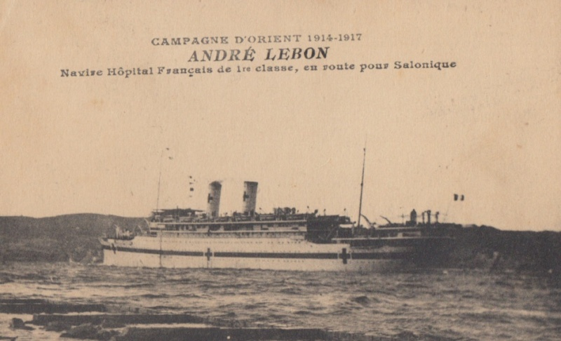 * ANDRÉ LEBON (1916/1918 et 1939/1942) * 452_0010