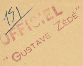 * GUSTAVE ZÉDÉ (1947/1970) * 54-02_10