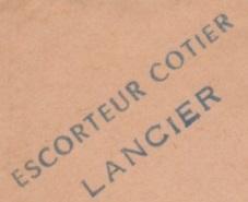 * LANCIER (1944/1960) * 59-0410