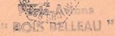* BOIS BELLEAU (1953/1960) * 59-08_10