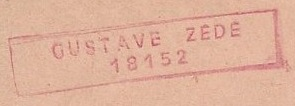 * GUSTAVE ZÉDÉ (1947/1970) * 60-02_11