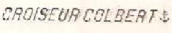 * COLBERT (1959/1992) * 61-0310