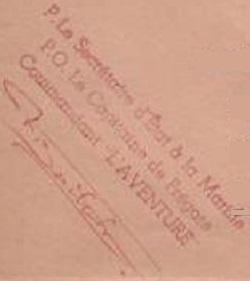 * L'AVENTURE (1944/1962) * 61-1210