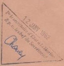 * CROIX DU SUD (1957/1978) * 62-0110