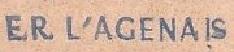 * L'AGENAIS (1958/1985) * 65-12_10