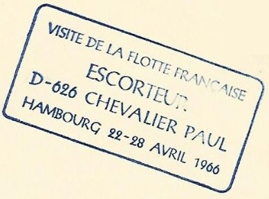 * CHEVALIER PAUL (1956/1971) * 66-0410