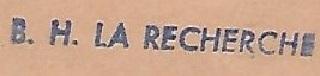 * LA RECHERCHE (1962/1989) * 67-09_11