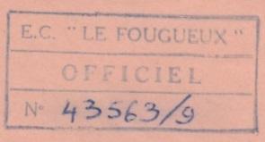 * LE FOUGUEUX (1955/1975) * 67-10_14